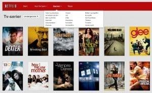 Netflix - vælg genrer