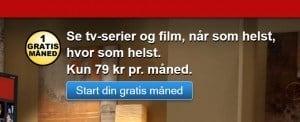 Netflix - første måned gratis