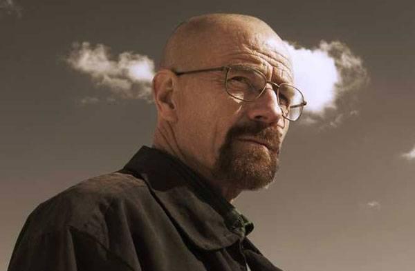 Bryan Cranston spiller Walter White