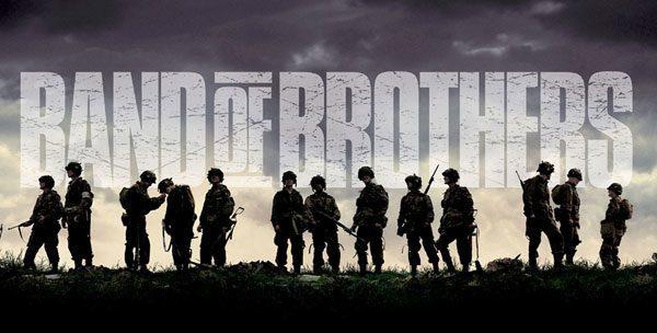 Band of Brothers - den bedste serie hos HBO Nordic ifølge IMDB