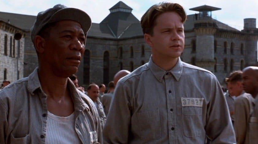 En verden udenfor (The Shawshank Redemption) - Verdens bedste film ifølge IMDB