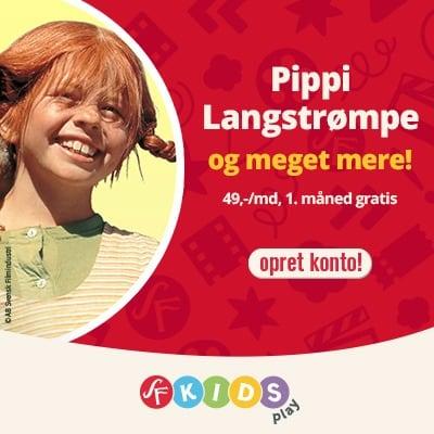 Se bl.a. Pippi Langstrømpe hos SF Kids Play