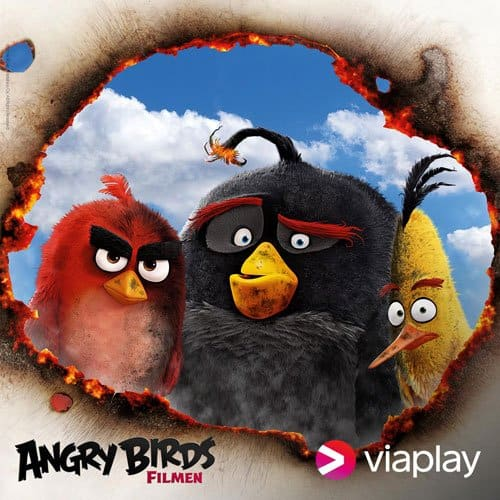 Se Angry Birds og andre gode film hos Viaplay