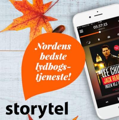 Hvad er Storytel og sådan prøver du Storytel gratis i 14 dage